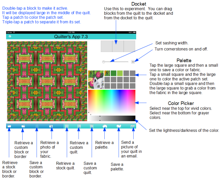 Best Quilting Apps For The Ipad Cali Quiltercali Quilter