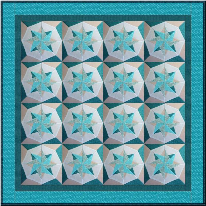 Woven Star Quilt