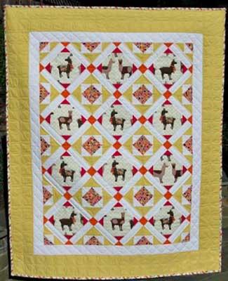 Llama_Love quilt